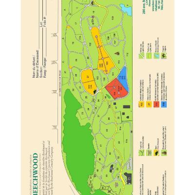 Beechwood cemetery map pdf