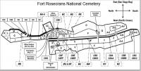 Fort rosecrans national cemetery plan