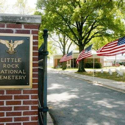 Little rock national cemetery photo