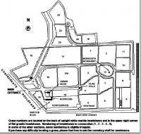 Little rock national cemetery plan