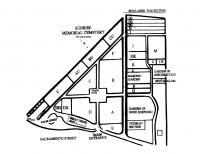 Sunrise memorial cemetery plan